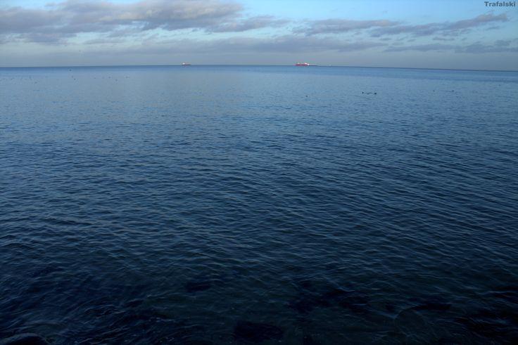 Gdynia - Widnokrąg , morze #Photography #ILovePhoto
