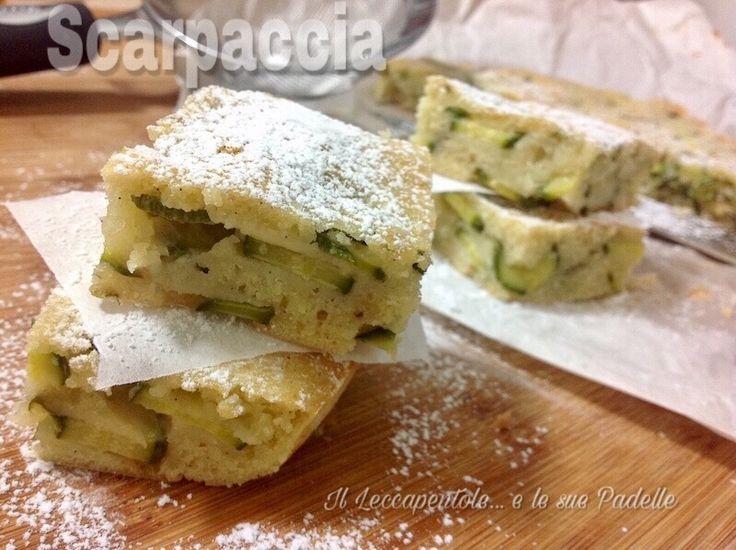Gli zucchini hanno un sapore neutro e ben si prestano a preparazioni dolci e salate: conoscete la scarpaccia? è una torta dolce  e la versione bianca è la più comune http://blog.giallozafferano.it/leccapentole/scarpaccia-torta-dolce-di-zucchini/