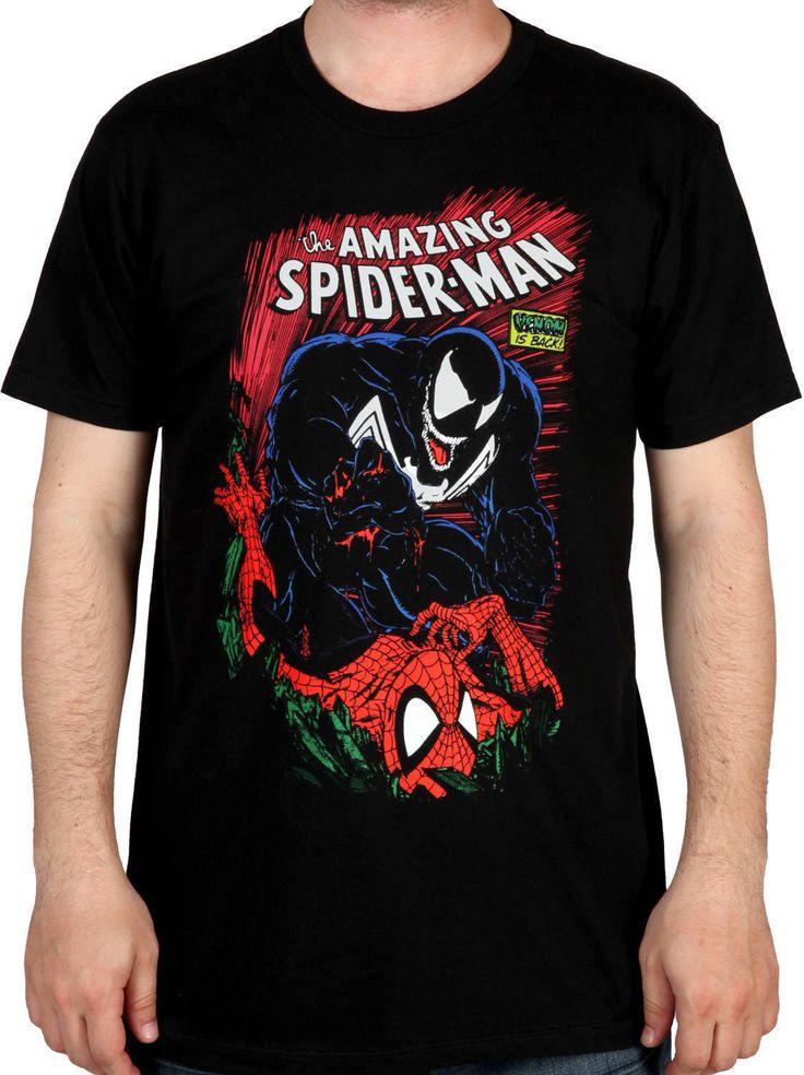 Spiderman and Venom Shirt