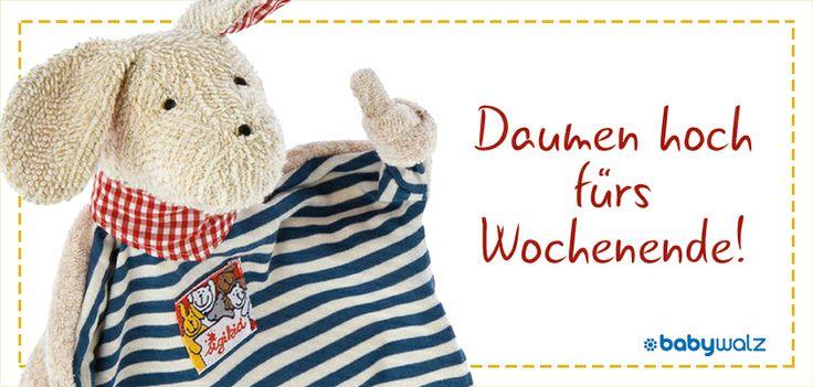 """Wochenend-Hund: Sigikid Schnuffeltuch """"Hund"""""""
