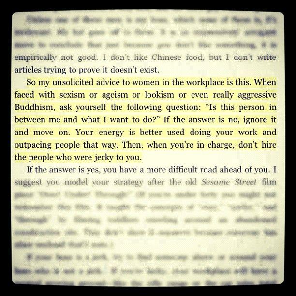 Tina Fey Quotes Bossypants