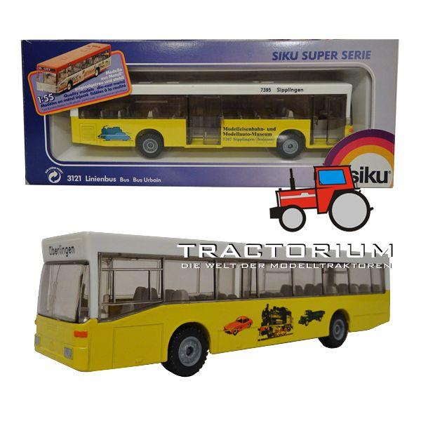 Siku 3121 Mercedes Benz Linienbus Sondermodell Spielzeugmuseum Sipplingen 1/55
