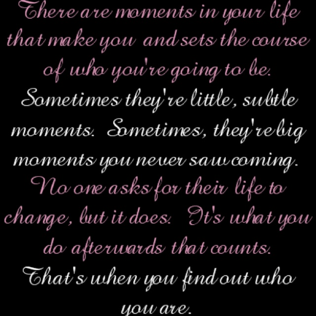 Life's little moments...