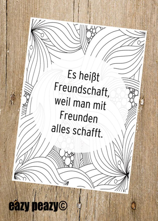 ★ freundschaft. ★ postkarte ★                                                                                                                                                     Mehr