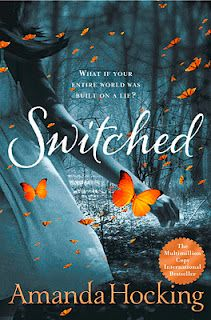 All right. There has been quite a lot of hype around young adult novels in this century but THIS one has to be read for all YA readers. Switched is the first of a trilogy written imaginably by Amanda Hockings. It's a trilogy filled with fantasy, mystery, philosophical elements and of course--romance.