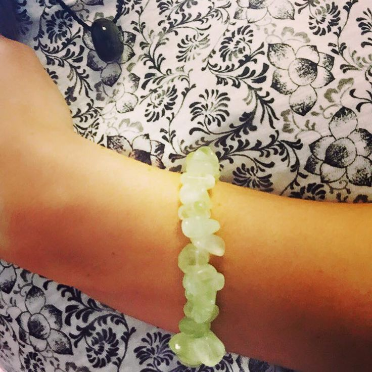 """Prehnite is a Crystal of unconditional love. It is said to connect us to the archangel Raphael   http://crystal-harmony.myshopify.com/products/crystal-healing-chip-bracelets £5.50 each gift wrapped with free p&p xxx  Archangel Raphael is the supreme healer in the angelic realm and chief role is to support, heal, and guide in matters involving health. Raphael means """"He who heals"""" in Hebrew."""
