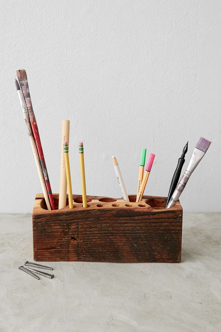 Peg And Awl Large Desk Caddy - Urban Outfitters