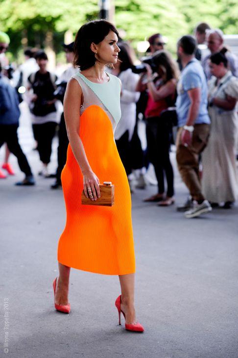 Street style - Miroslava Duma