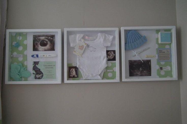 quadro de recordaçoes bebe