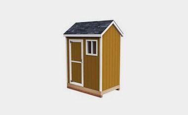 Free 6x4 shed plan pdf