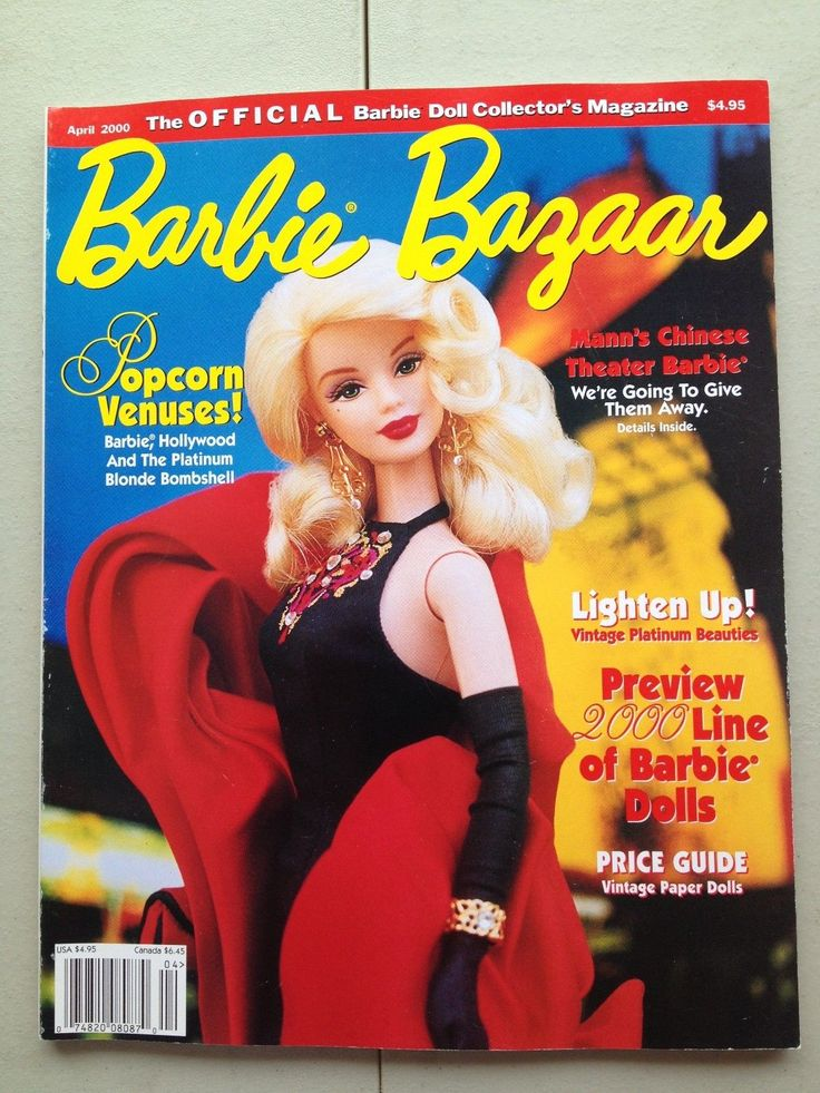 Barbie Bazaar April 2000 Magazine Doll Book Preview Line Price Guide
