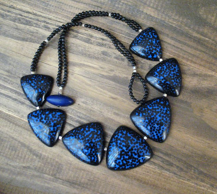 Necklace by polymer clay | Saruva