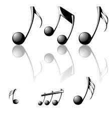 Imagenes notas musicales para imprimir