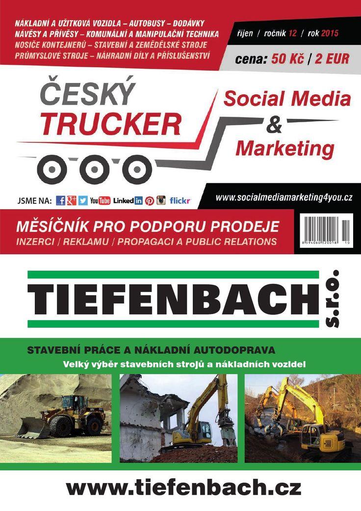 Český Trucker říjen 2015