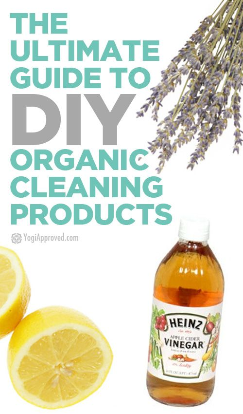 The Ultimate Guide to DIY Natural Cleaning Products (Infographic)