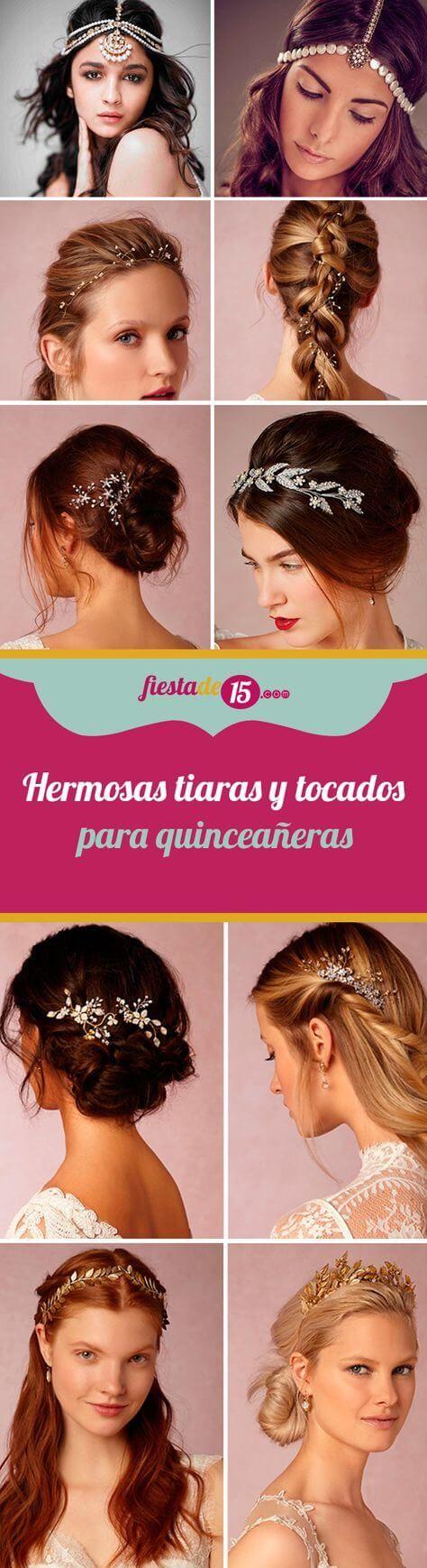 25 best Peinados para Quinceañeras images on Pinterest | Baile de ...