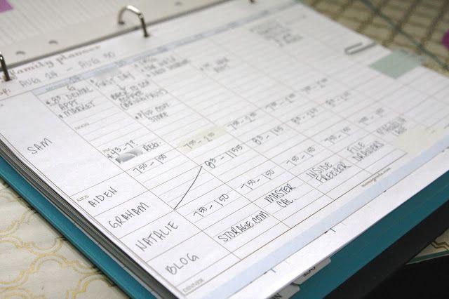 Organized Master Calendar