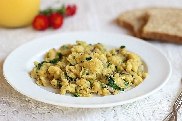 Vegan Scrambled Eggs (Soy-Free)
