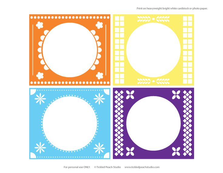 free fiesta printables | Freebie Friday: Cinco de Mayo from Tickled Peach Studios | Double the ...