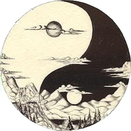 Ying Yang: Sun up, Sun down / Sacred Geometry <3