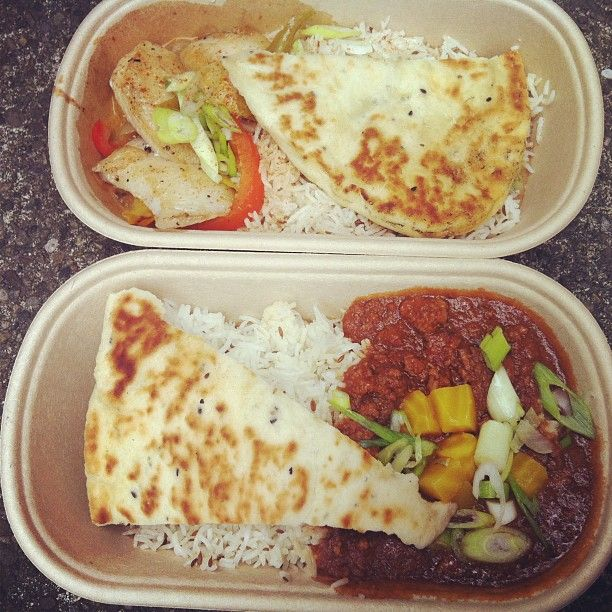 Vij's Railway Express - Vij's brings the wonderful flavours of his much loved restaurant to the streets. Vij's Railway Express truck is usually serving lunch in front of the MEC building on Great Northern Way at least once a month. Within a short walking distance.