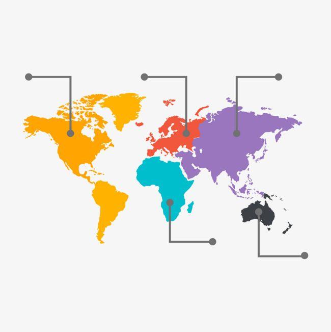 لون الخريطة العالمية لون عالمي خريطة Png وملف Psd للتحميل مجانا Global Map Map Color