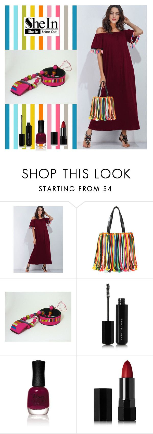 """""""WIN SHEIN $30 COUPON"""" by artstudiokatherine on Polyvore featuring Emilio Pucci, Marc Jacobs, Charlotte Russe and Serge Lutens"""