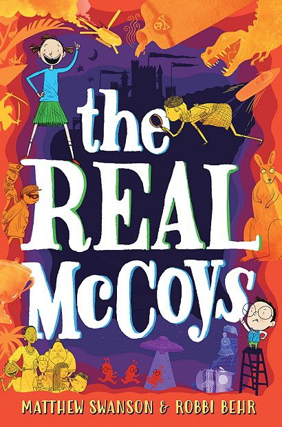 The Real McCoys (The Real McCoys #1) by Matthew Swanson, Robbi Behr
