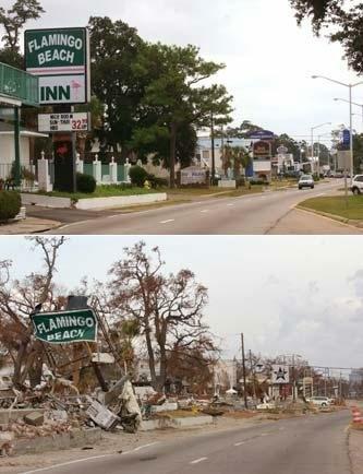 Hurricane Katrina, 2005, Mississippi's gulf coast