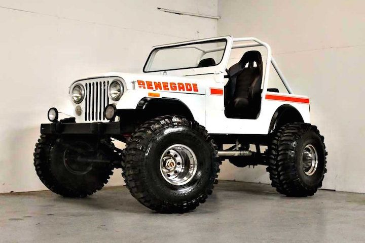 For Sale: Stunning 1980 Jeep CJ7 Renegade Restomod — eBay Motors