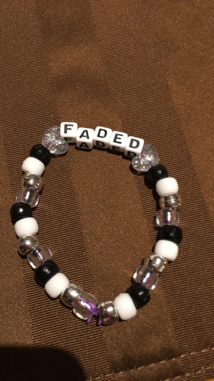 #Faded #kandi #rave #bracelet #ravewear