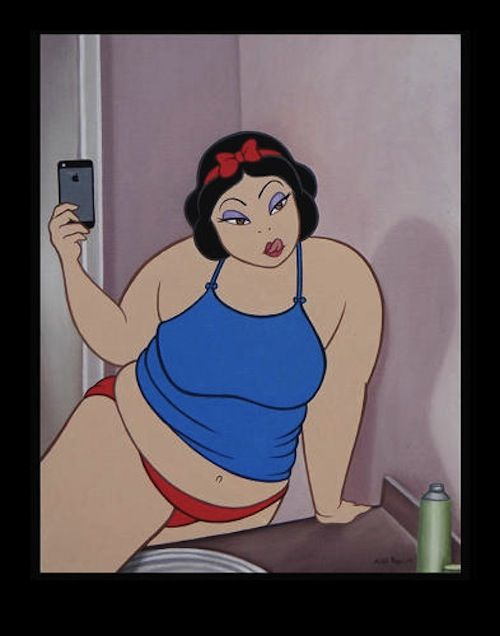 Disney Characters Remixed With Historic Artworks In Profane Situations http://designtaxi.com/news/367902/Disney-Characters-Remixed-With-Historic-Artworks-In-Profane-Situations/?interstital_shown=1