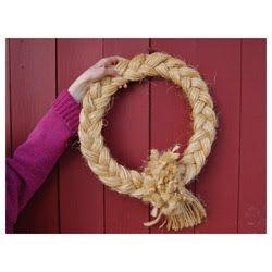 MotherhouseMarket: Baling Twine Wreath
