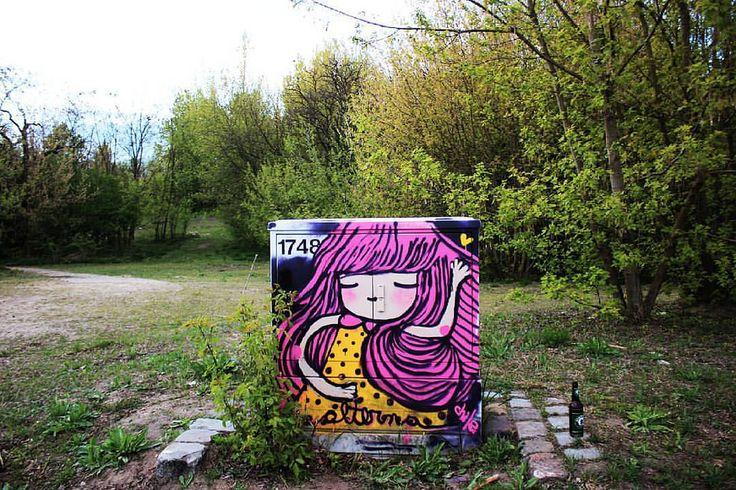 https://flic.kr/p/GsmdjV | not one of my best works, but I'm a little rusty with the spray. finally after some time.  life-paint.... graffiti <3 :) #alterna #Graffiti #graff #graffitiberlin #berlin #deutschland #girlgraffiti #art #muro #muralla #graffiti #calle #streetart #street #