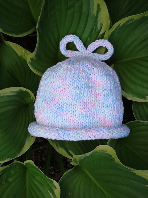 Knitted Baby Hat - **Free Pattern