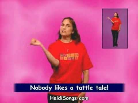 Music for Classroom Management - The Tattling Song - YouTube