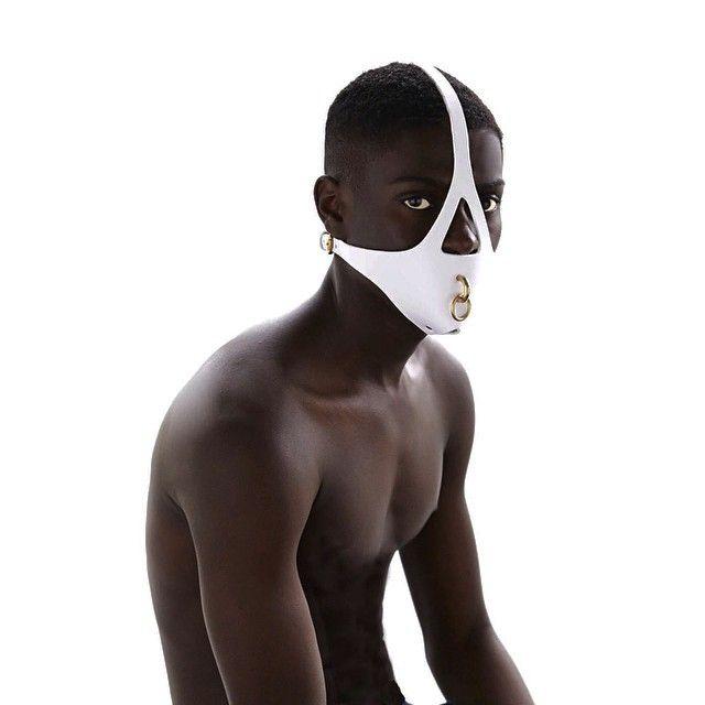 The White Muzzle - now online #fleetilya #muzzle #mask