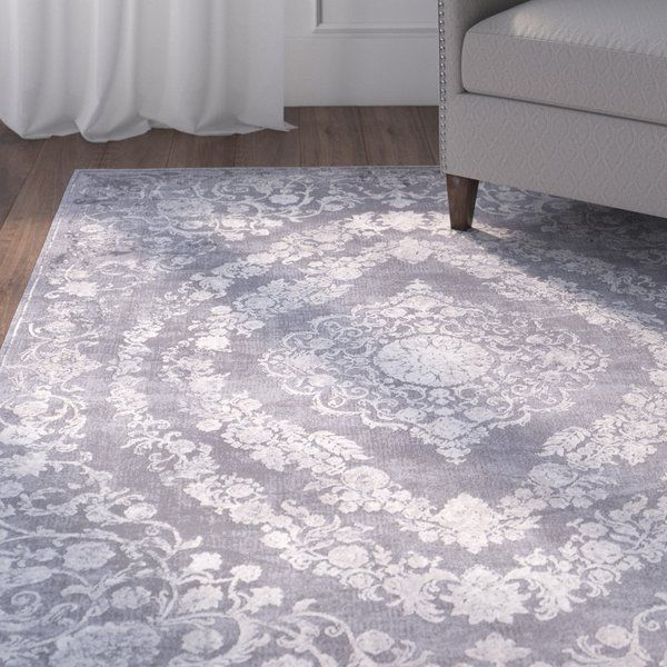 Inspired by traditional patterns, the unique distressed rugs found within this collection are a new and trendy addition that would bring your space together. Made with polyester/polypropylene, this rug features a super soft medium pile that is perfect for high traffic areas with minimal shedding. Rug pad recommended. Spot or professionally clean only.