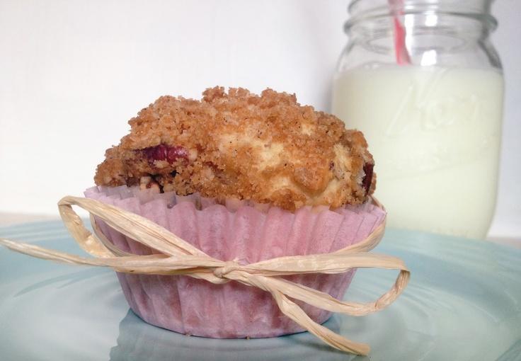 Peaches 'N Cream Muffins Recipe — Dishmaps