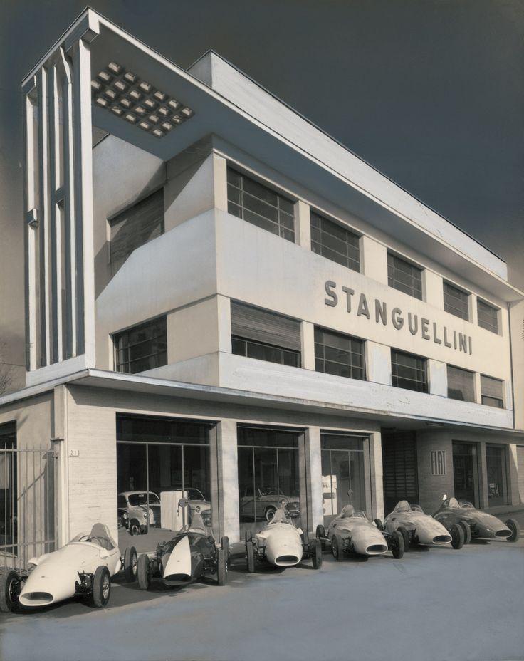 Stanguellini factory 1959