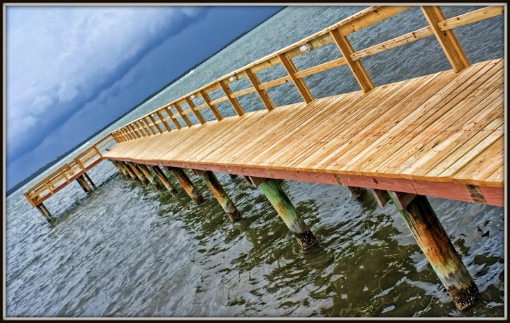 Beso del Sol Fishing Pier....where Jim and I usually are!