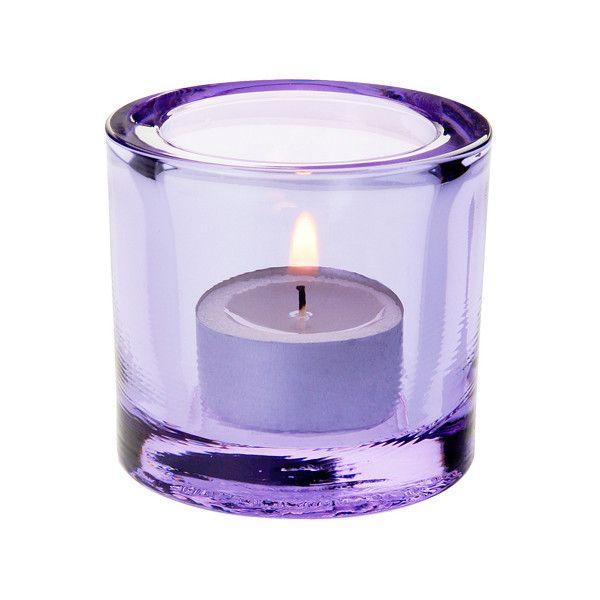 Iittala Kivi votive - light lilac