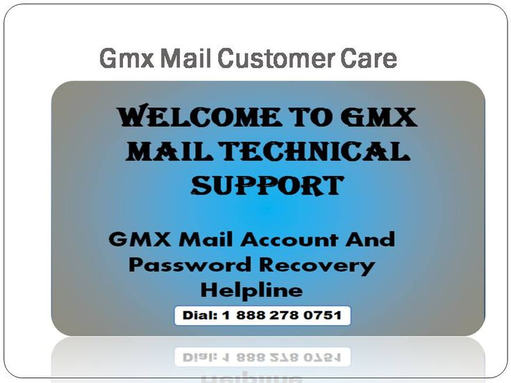 Gmx Mail Customer Care Center is one stop solution centre for any kinds of technical issues. We have team of well certified and experienced technicians, having excellent problems troubleshooting skills. Gmx technical support associates are trained by Gmx technical experts. Gmx also provides special training to them so that they will be able to take care of all Gmx e-mail account related technical problems.
