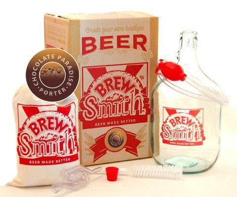 Chocolate Paradise Porter Kit Available from BrewSmith.com.au