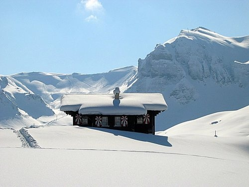 That part of Melchsee Frutt, Switzerland, where I stayed, was above timberline - Photo by GandalfTheWhite