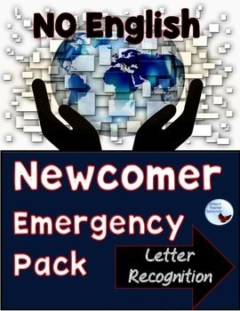 ESL Beginner / Newcomer Emergency Pack for Older Kids and Adults Help!!! Its the middle of January and they just put a student who doesn't know any English in my Global History class! This packet is the first one in a series geared toward older English Language Learners. It is designed so that they can work independently in their content classes.