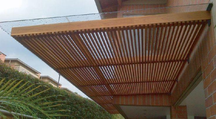 Pergolas y Cubiertas | Mobiliario, Productos Arquitectónicos y decks en madera - Bosquema S.A.