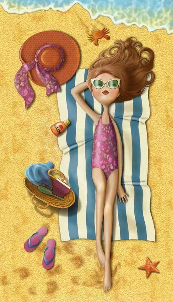 ¡Cómo nos gustaría estar así ahora mismo!. Disfrutad los que estéis en la playa, y los que no, ¡ya queda menos ;-).