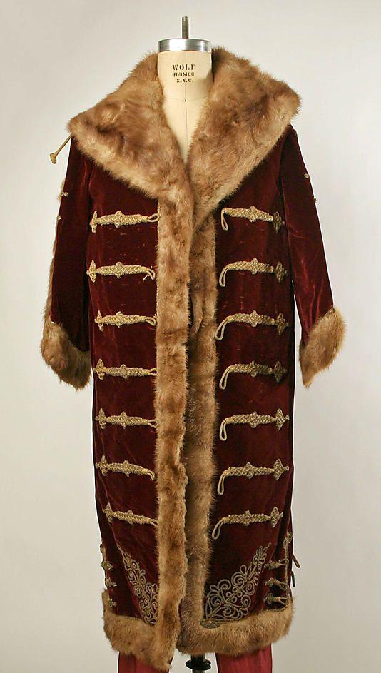 Costume  Date:     1850–1900 Culture:     Hungarian