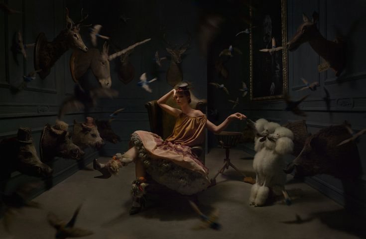 BetweenMirrors.com | Alt Art Gallery: Eugenio Recuenco - Cinematic Fashion Photography